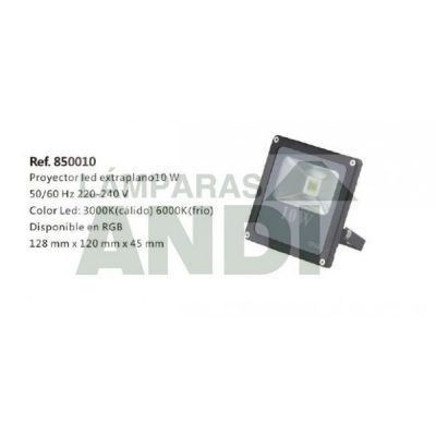 PROYECTOR LED EXTRAPLANO CÁLIDO