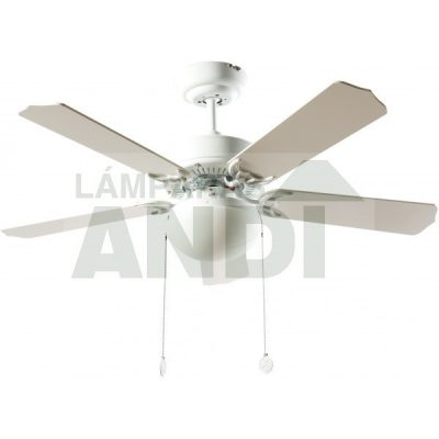 VENTILADOR DE LED HERACLES BLANCO