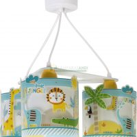 LAMPARA INFANTIL 3 LUCES MY LITTLE JUNGLE