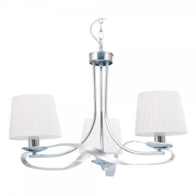 LAMPARA CLEVELAND 3 LUCES CROMO