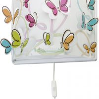 APLIQUE DE PARED INFANTIL MARIPOSAS